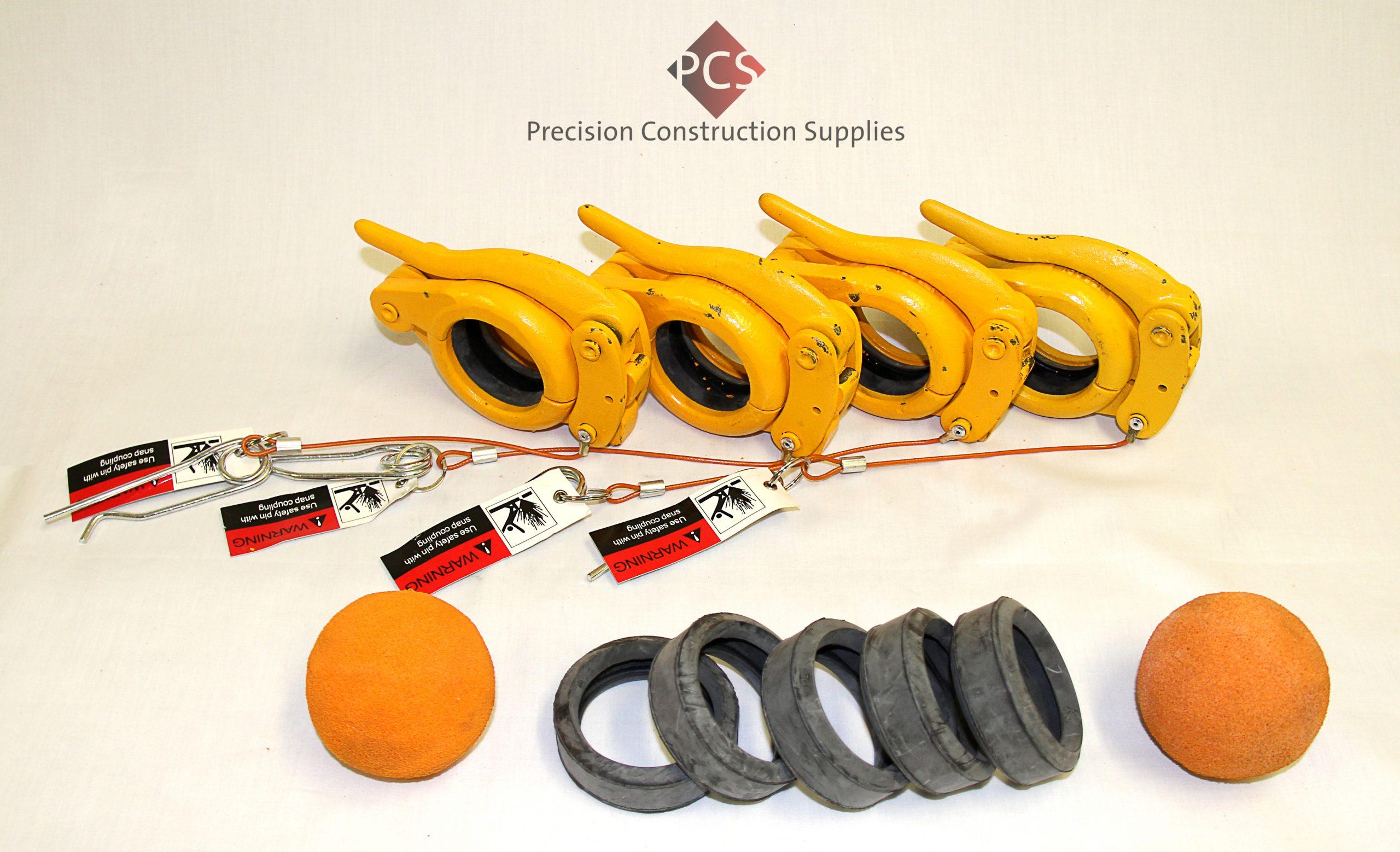 "Concrete Pump Parts Safety Sling 1/"" X 82/"" Nylon Loop Strap"